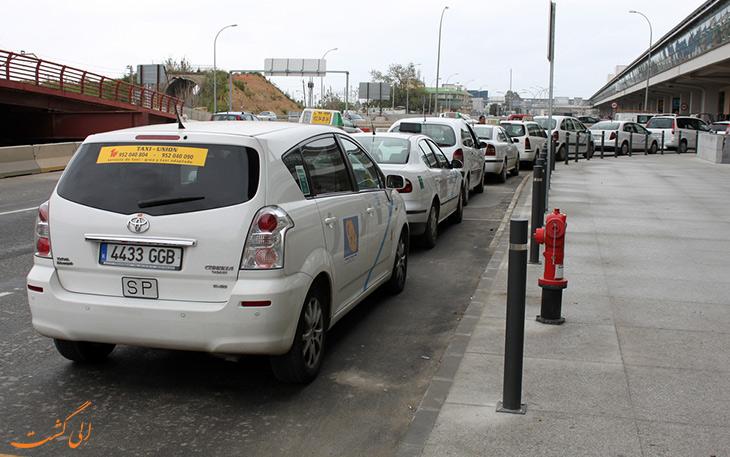 تاکسی مالاگا