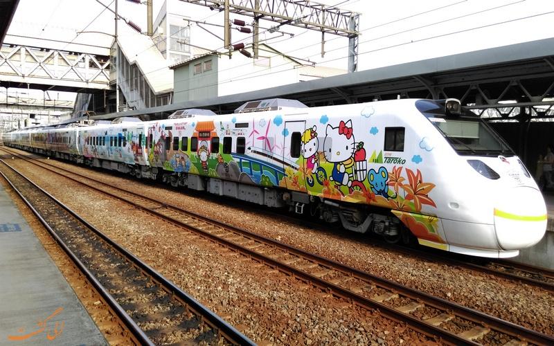 قطارهای Hello Kitty
