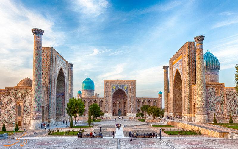 ازبکستان-بخارا و سفر با قطار
