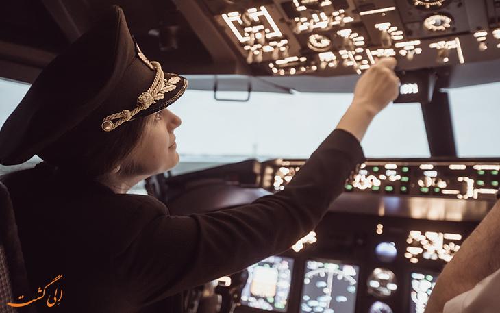 خلبان پرواز
