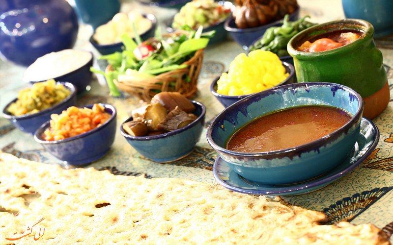 خورد و خوراک در همدان