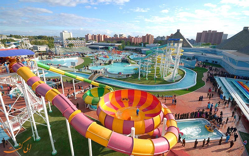 تفریح در سفر- پارک های آبی