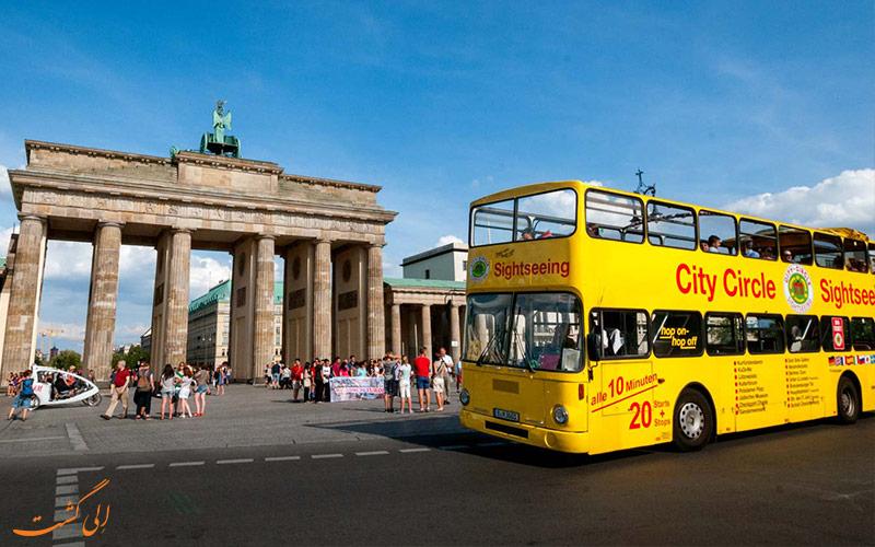 حمل و نقل در برلین-اتوبوس های توریستی برلین