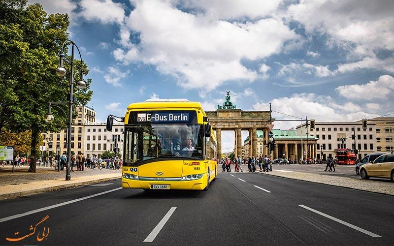 حمل و نقل در برلین-اتوبوس ها در برلین