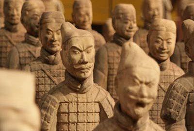 عگسی از سربازان سفالی چین- عجایب جهان