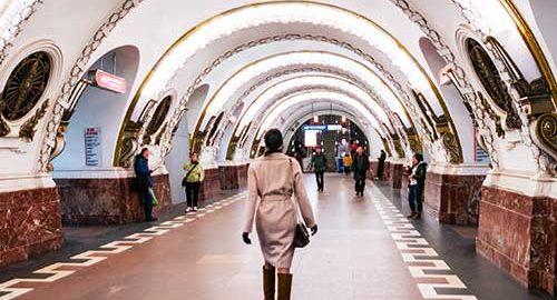 ایستگاه های متروی سنت پترزبورگ