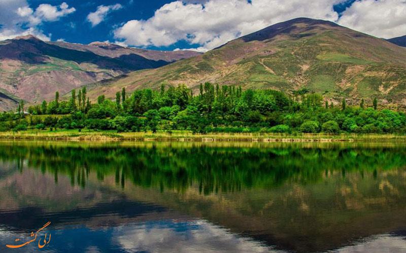 قلعه-الموت-و-دریاچه-اوان