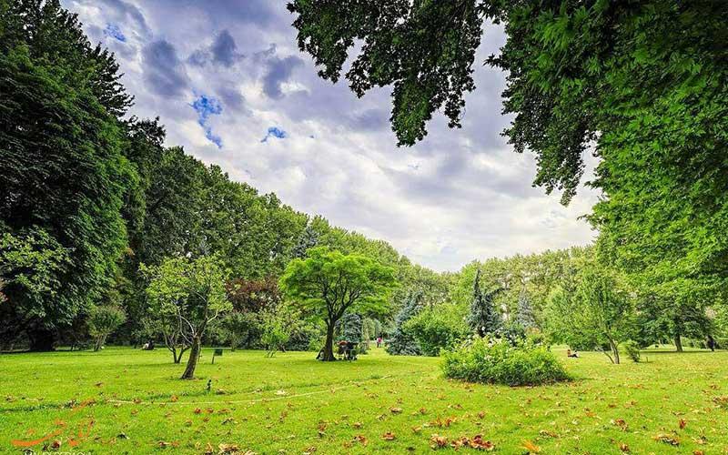 مجموعه باغ های سعدآباد