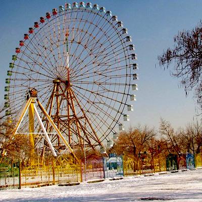 عکس های قدیمی پارک ملت مشهد