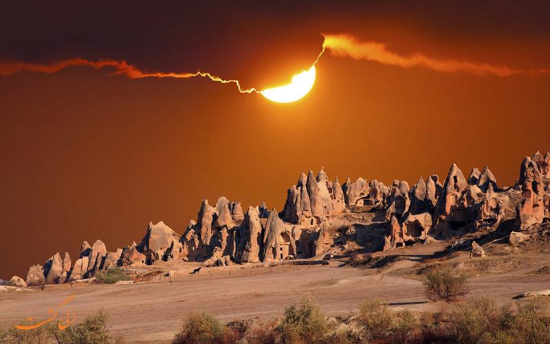 جاذبه های طبیعی خاورمیانه