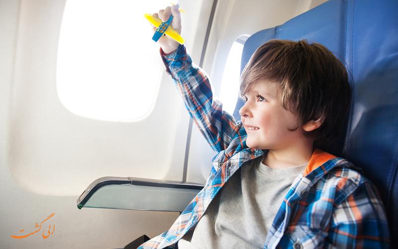 کودک بدون همراه در هواپیما