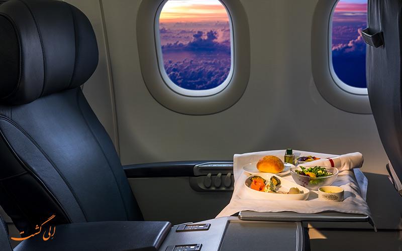 چه چیزهایی نباید در هواپیما بخوریم