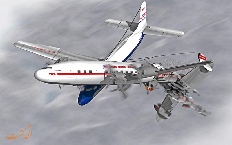 هواپیما در گرندکنیون