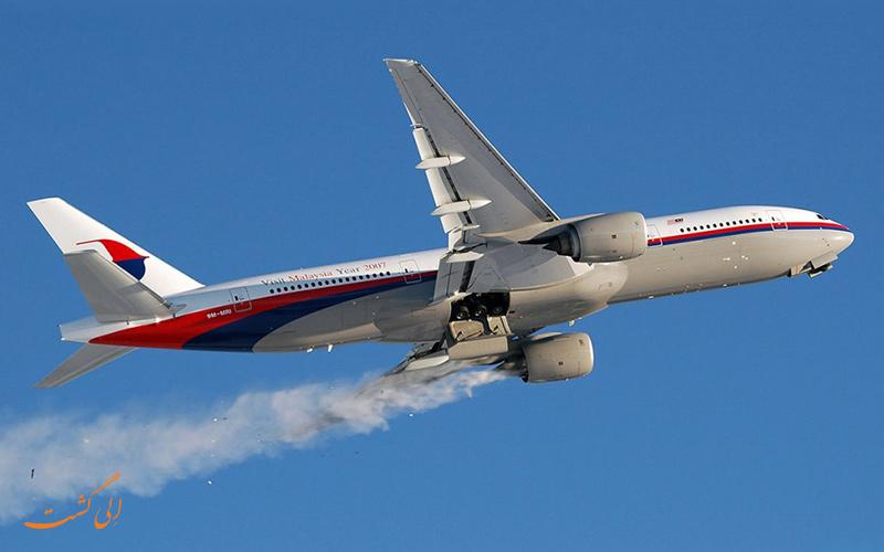 خراب شدن موتورهای هواپیما