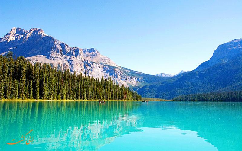 دریاچه امرالد | Emerald Lake