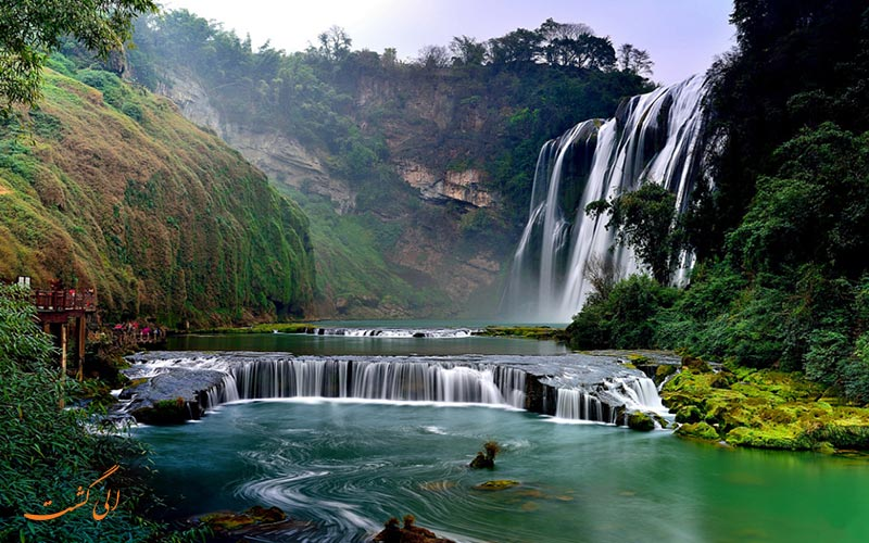 آبشار هئوانگ گوژو | Huangguoshu