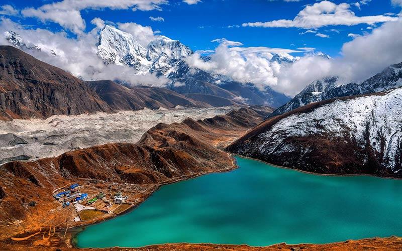 مناظر پارک ملی ساگارماتا نپال