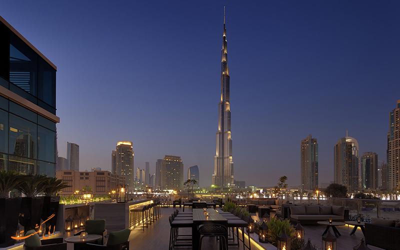 هتل تاج دبی | فضای بیرونی