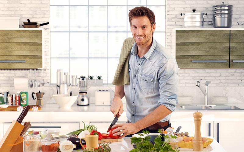 غذا درست کردن در خانه