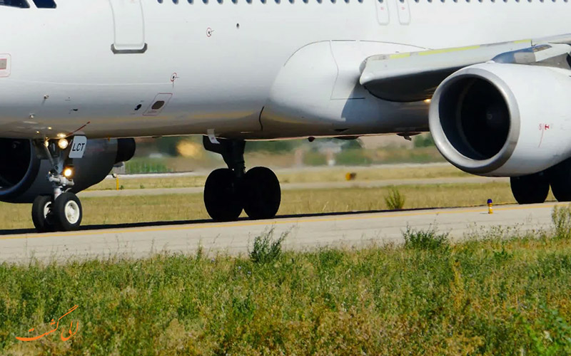 هواپیمای نشسته