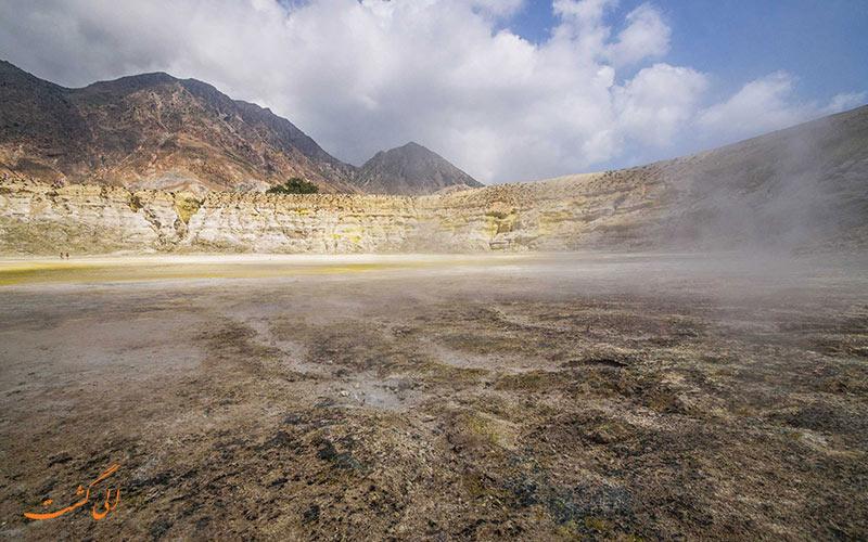 دهانه آتشفشانی استفانوس