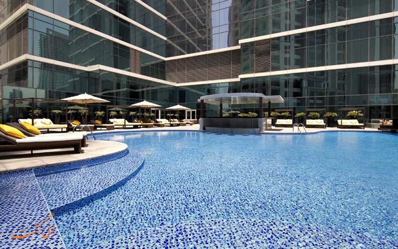 هتل تاج دبی | استخر