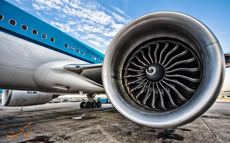 موتور یک هواپیما