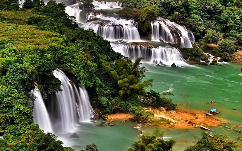 آبشارهای دتیان | Detian Falls