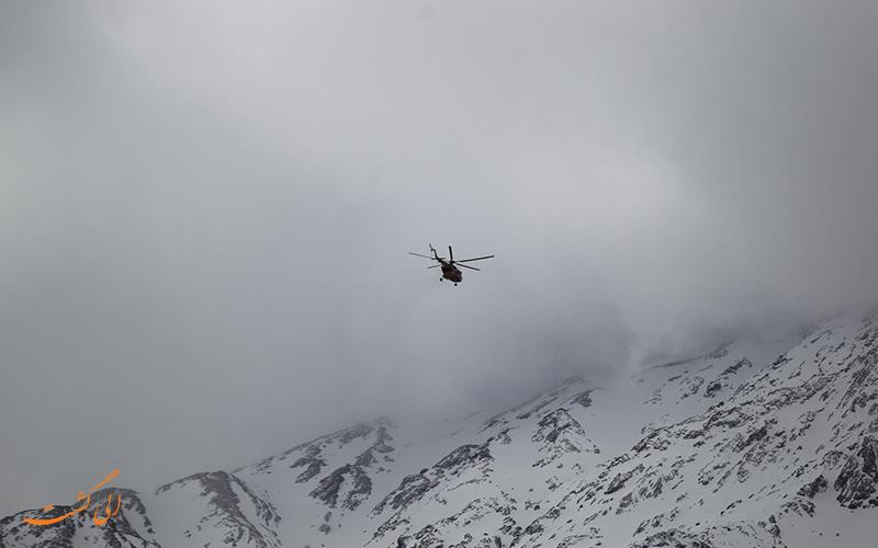 تیم جستجو در ارتفاعات