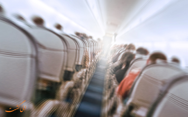 چاله هوایی در هواپیما