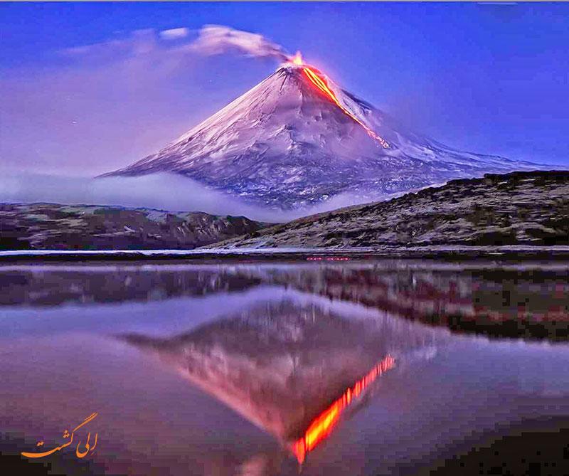 آتشفشان چینهای کلیوچوسکایا