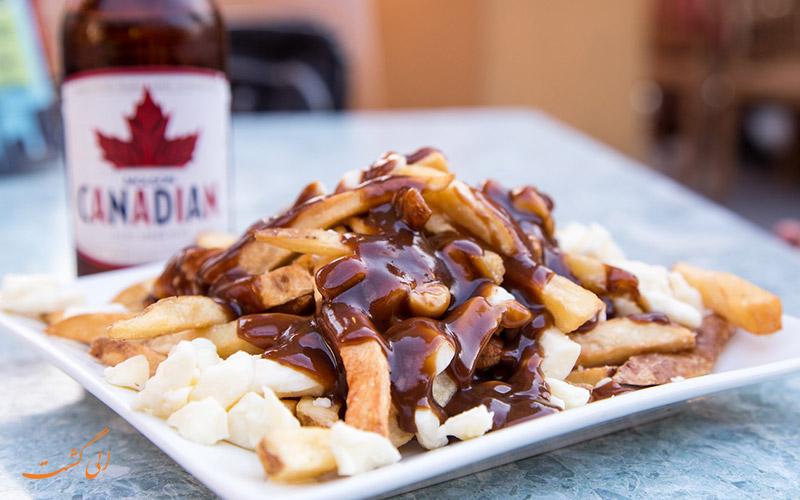 غذای پوتین در کانادا