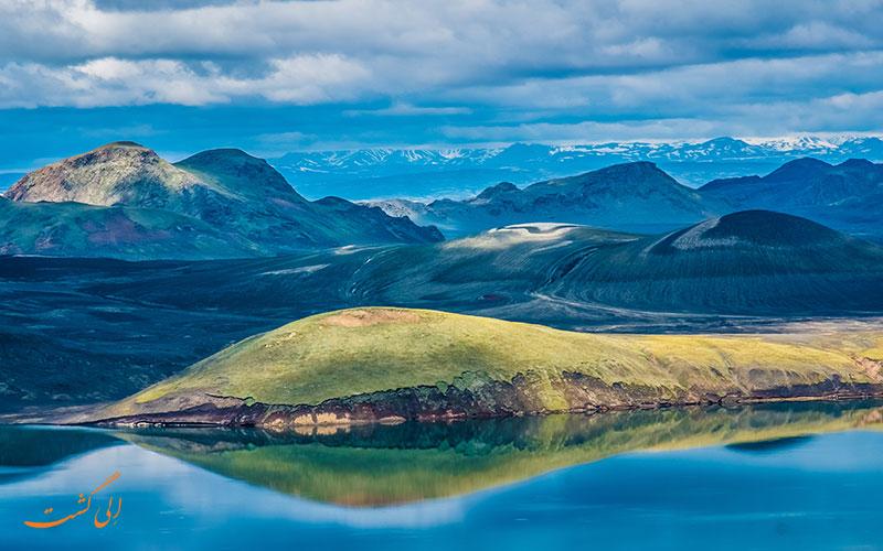 طبیعت گردی در ایسلند