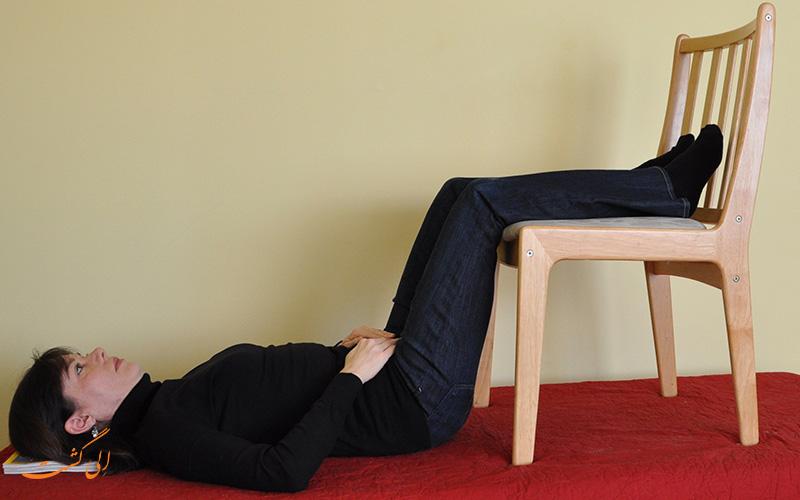 دراز کشیدن برای از دست دادن دما