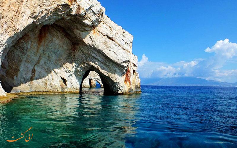 غارهای آبی زاکینتوس