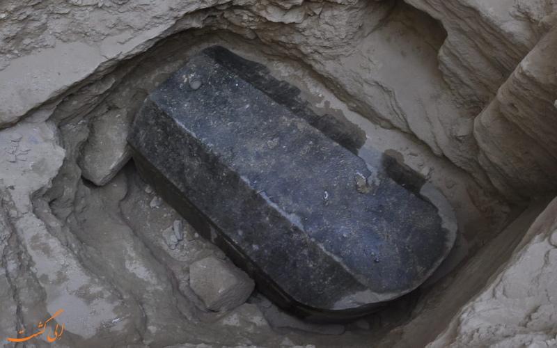 کشف تابوت سیاه باستانی در اسکندریه
