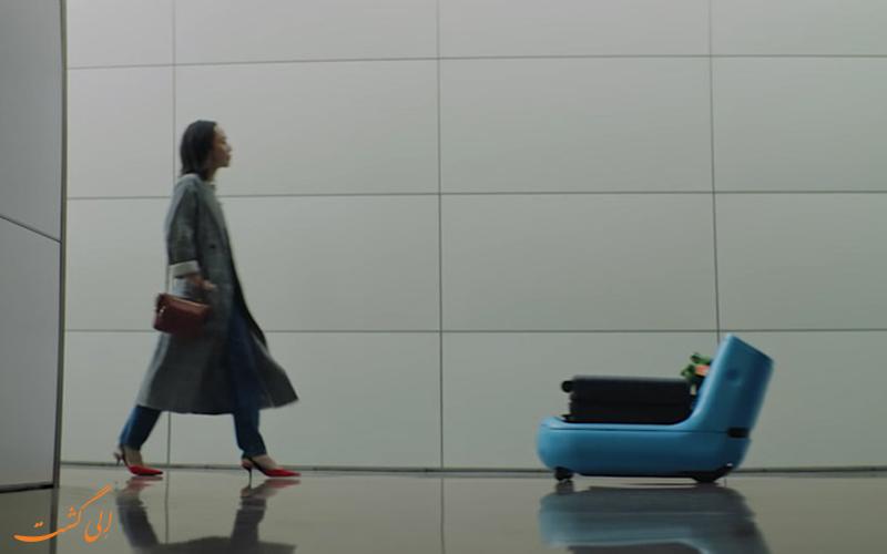 ربات فرودگاهی جدید