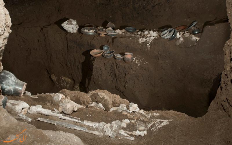 کشف مقبره رومی