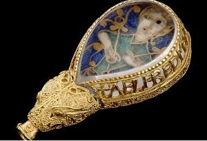 جواهر آلفرد در موزه آکسفورد