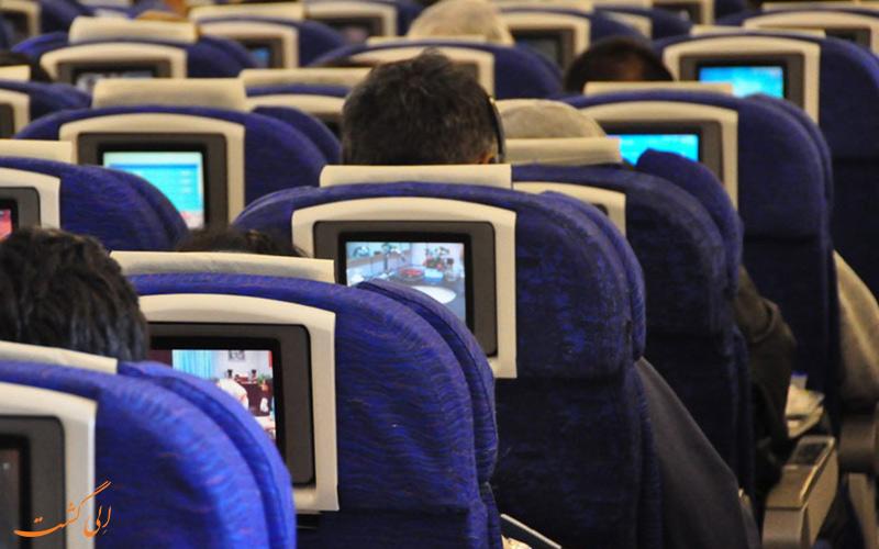 راحت ترین صندلی های هواپیما