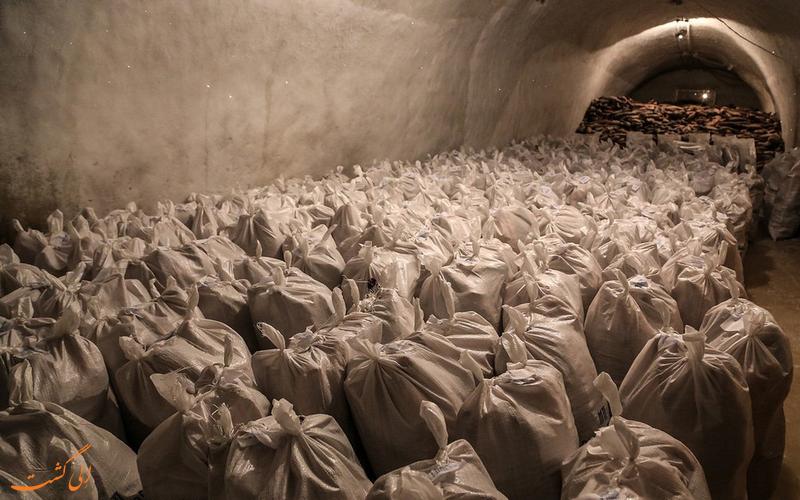 سردخانه های یخی سیبری