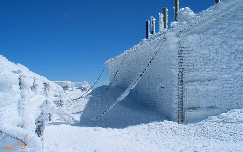 شهر یخ زده