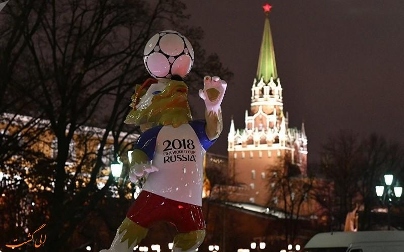 جام جهانی موثر بر اقتصاد روسیه