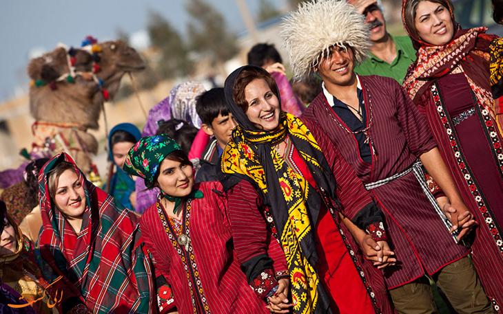 عروسی ترکمن های ایران
