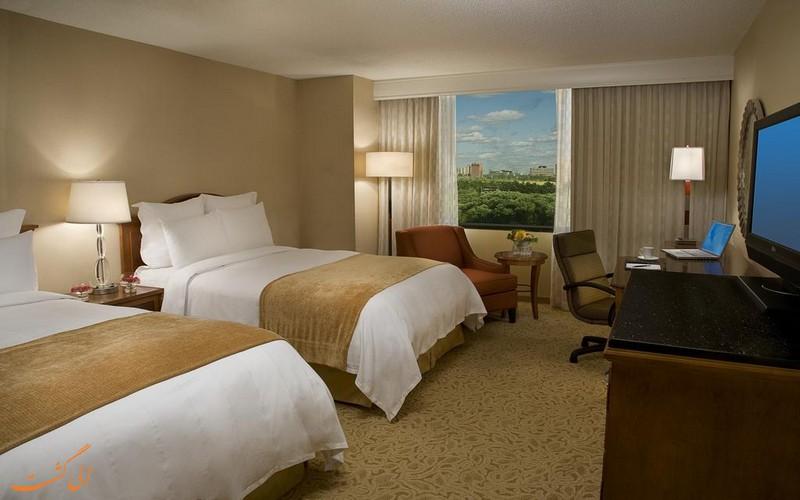 هتل 4 ستاره مریوت ایرپورت