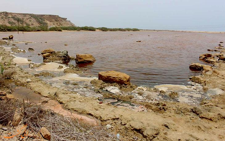 تالاب لیپار در جنوب ایران