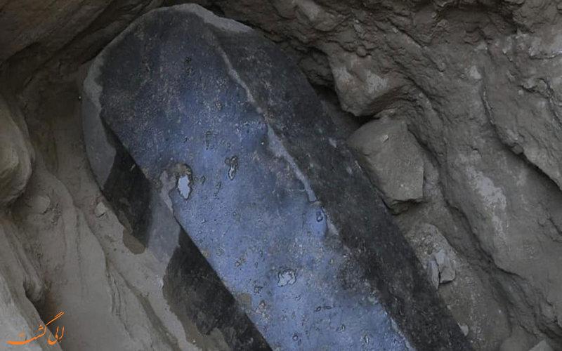 تابوت باستانی کشف شده در اسکندریه