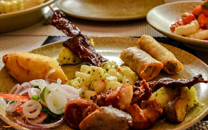 هزینه خورد و خوراک در کوزکو