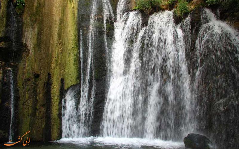 آبشار وارک در خرم آباد