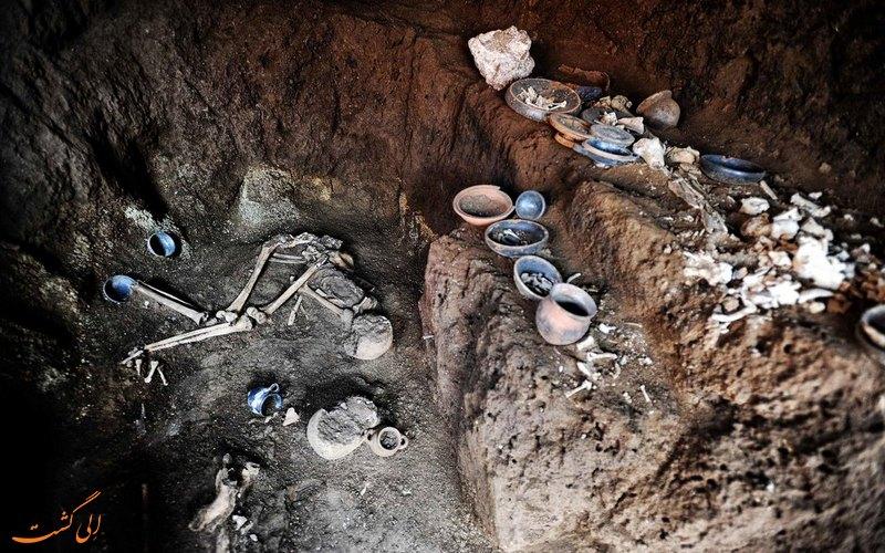 کشف یک مقبره رومی در رم